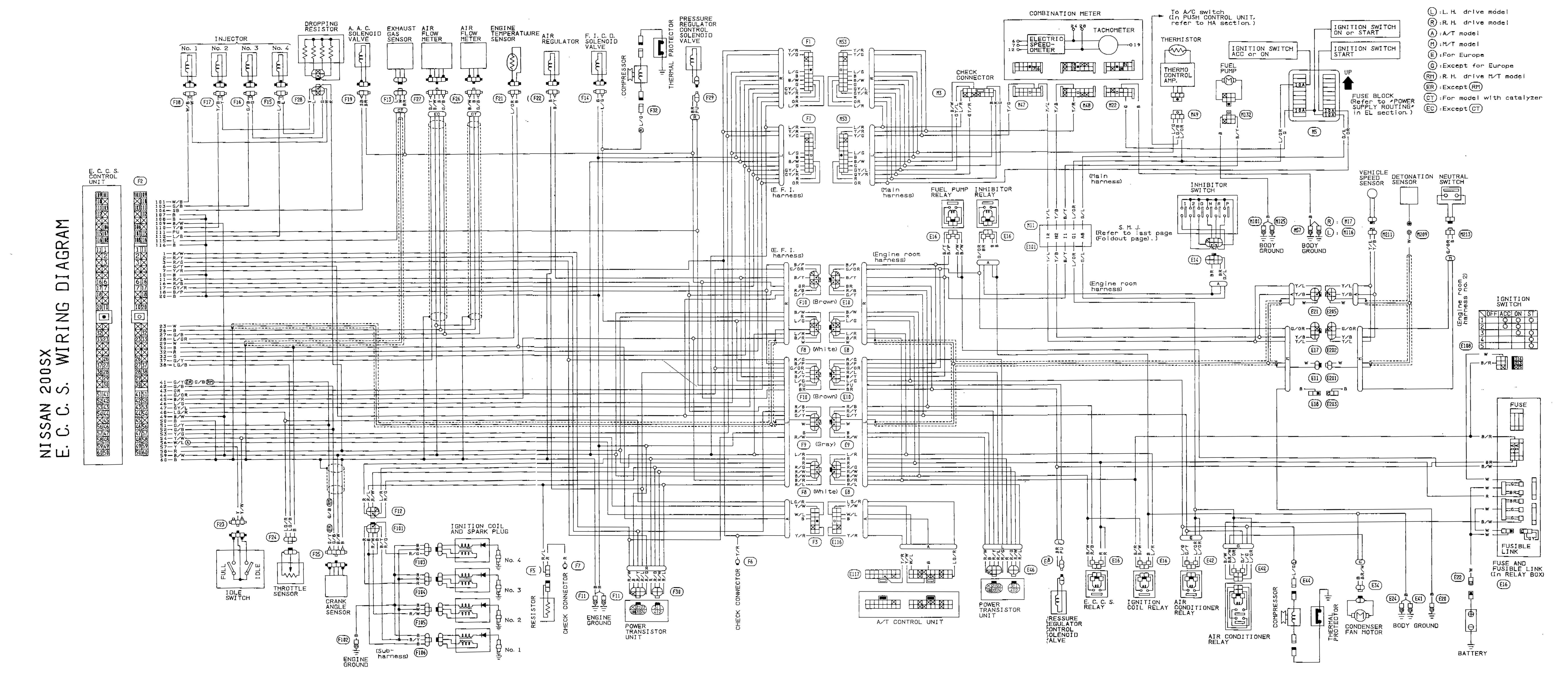 S13 Wiring Diagram Wiring Diagram Schematics Electrical Diagram 240sx Fuse  Diagram